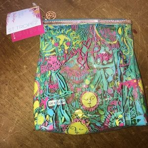 LILLY PULITZER St.Tropez makeup bag